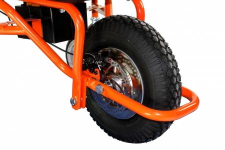 roue de la brouette électrique