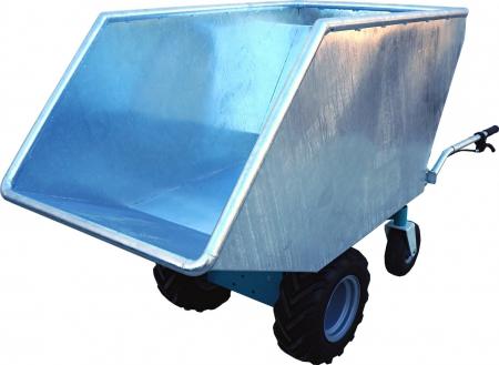 transporteur électrique C4 avec cuve