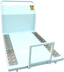 plateau spécial bois pour chenillard k50 et k65