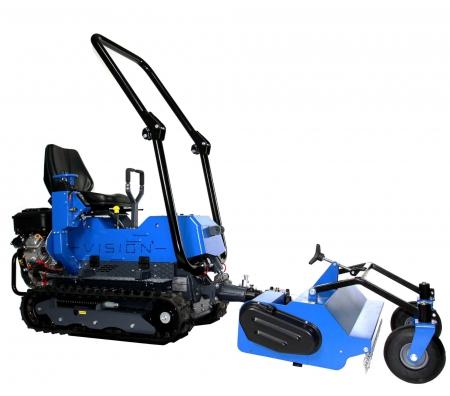 micro tracteur avec gyro de profil