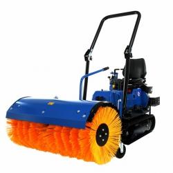 brosse pour micro tracteur à chenille
