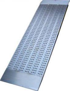 rampe de chargement grande largeur monobloc