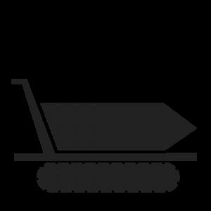 icone brouette a chenille